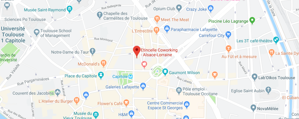 Etincelle Coworking Toulouse